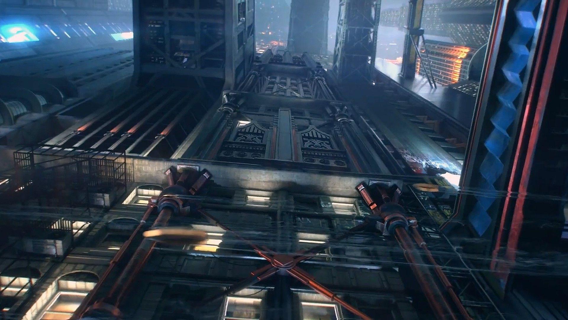 cyberpunk city hd wallpapers - photo #30