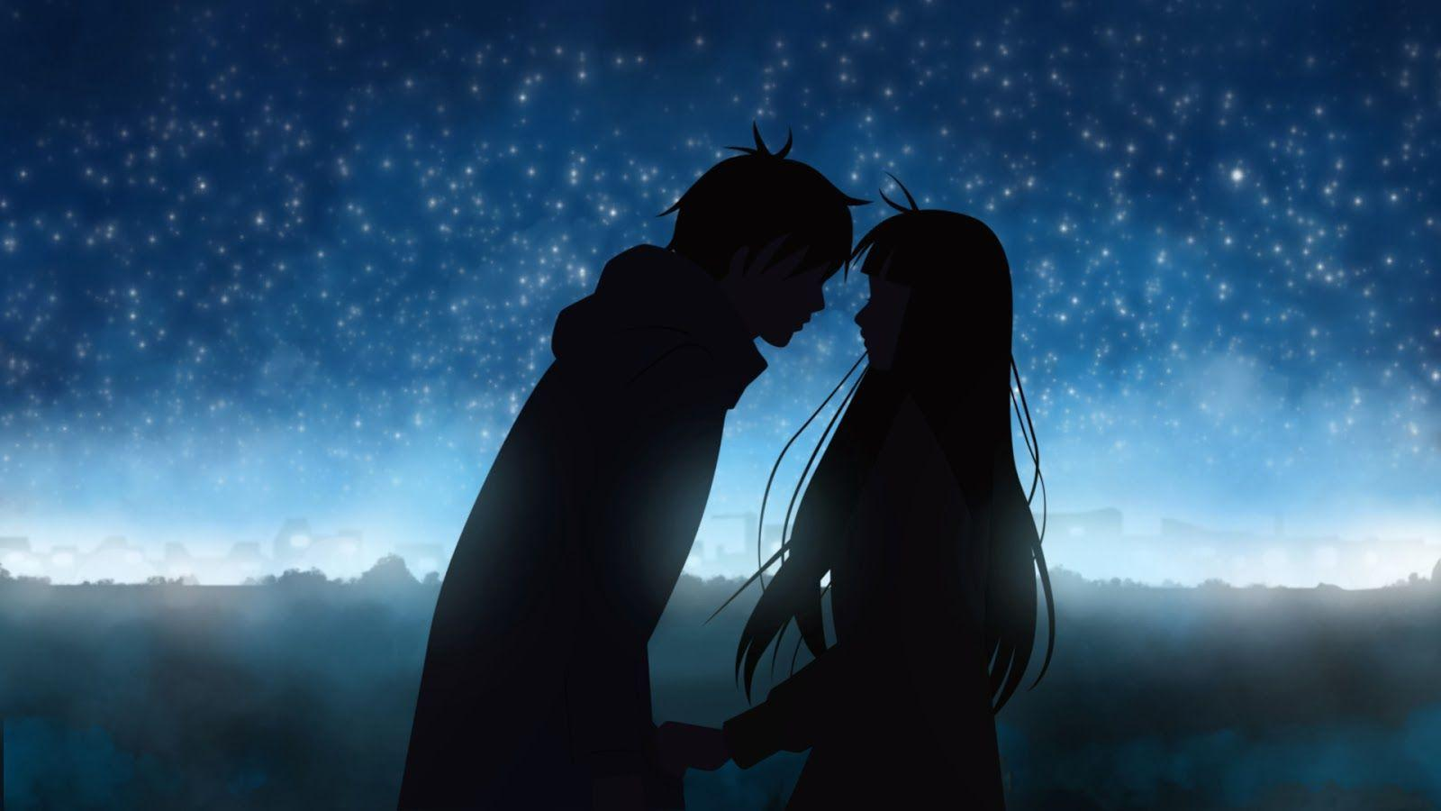 Love couple cover Wallpaper : Anime Love Wallpapers - Wallpaper cave