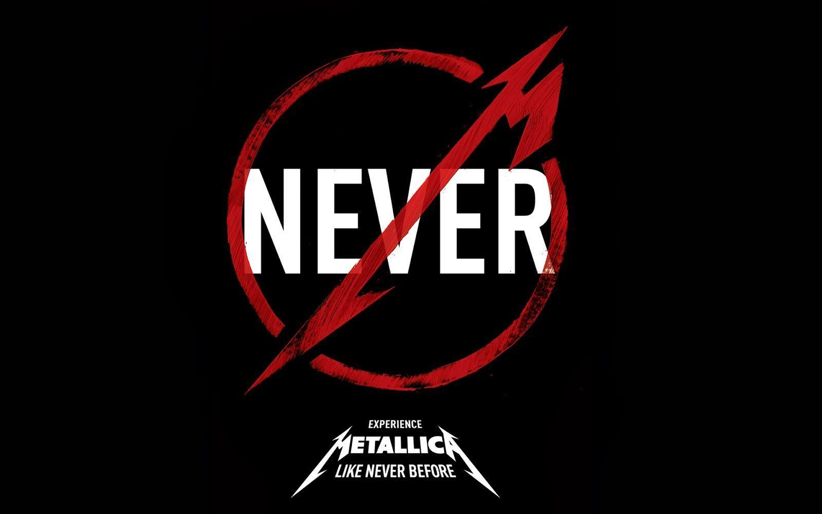 Wallpapers For > Metallica Logo Wallpapers