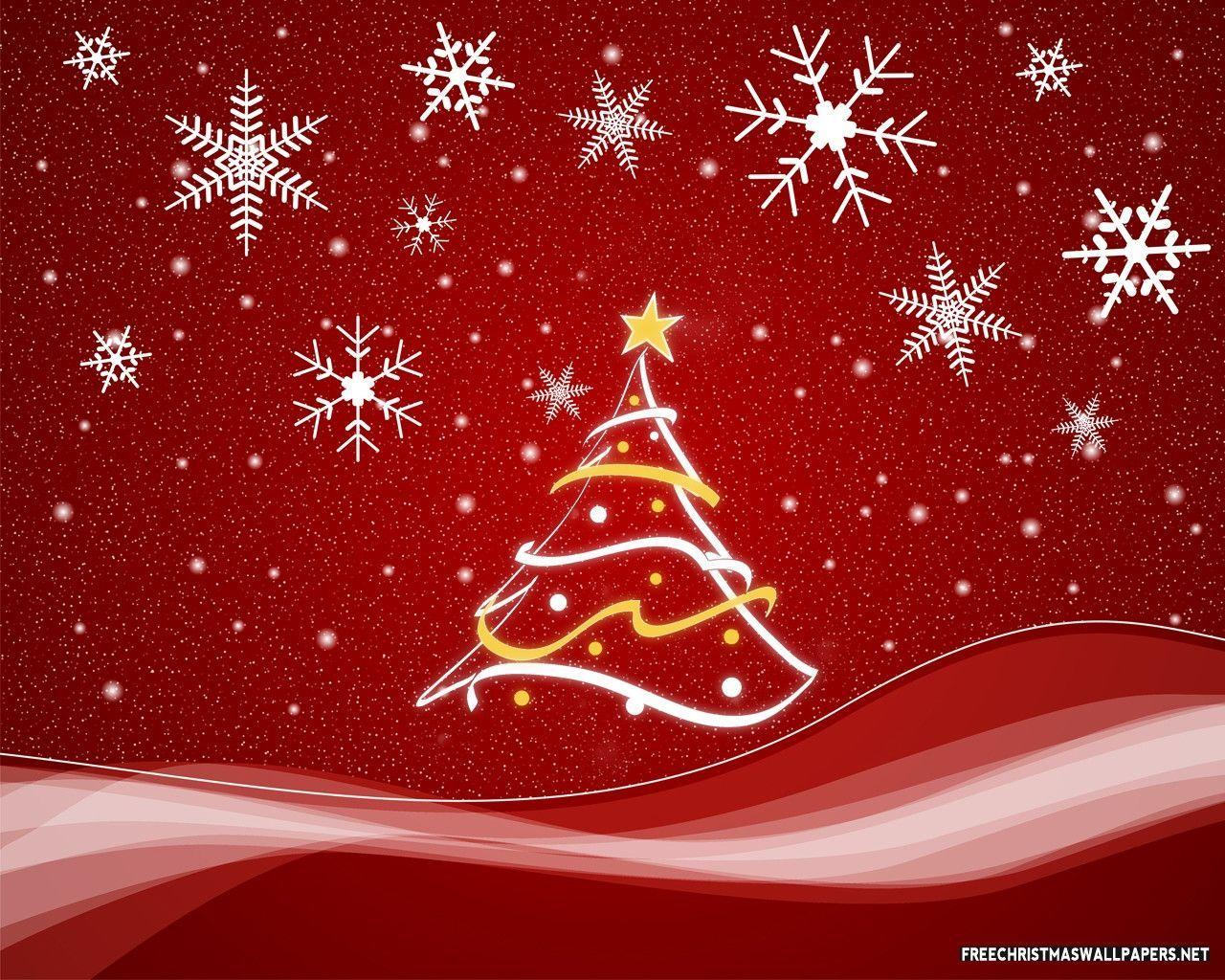 Red Christmas Background.Red Christmas Backgrounds Wallpaper Cave