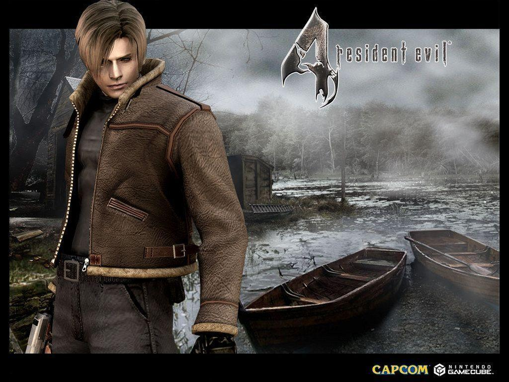 Resident Evil 4 Leon Wallpapers Wallpaper Cave