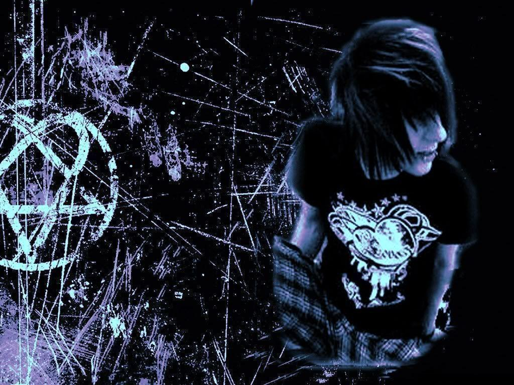 Emo Love Couples Hd Wallpapers And Pictures: Cute Emo Backgrounds