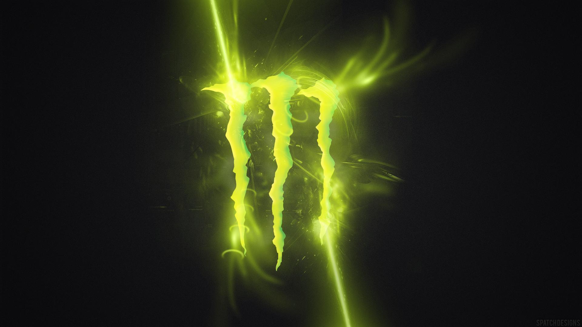 Monster Energy Drink Logo Wallpaper