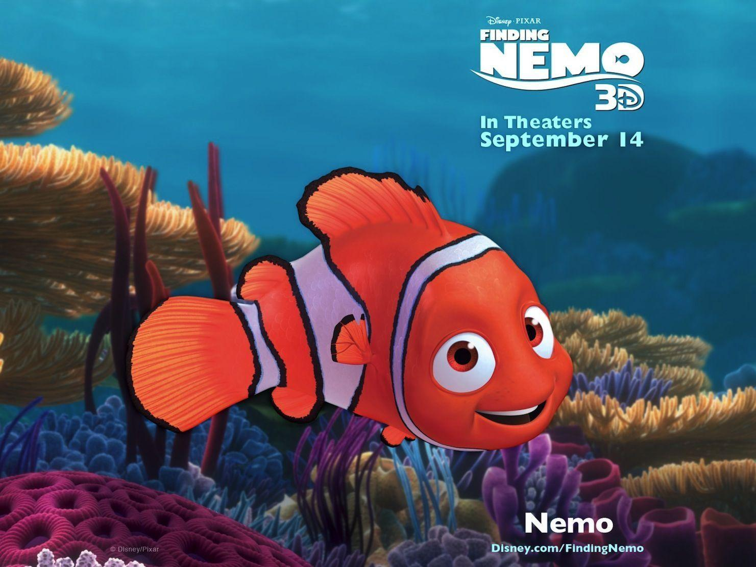 Nemo Finding Nemo 3D HD Wallpapers