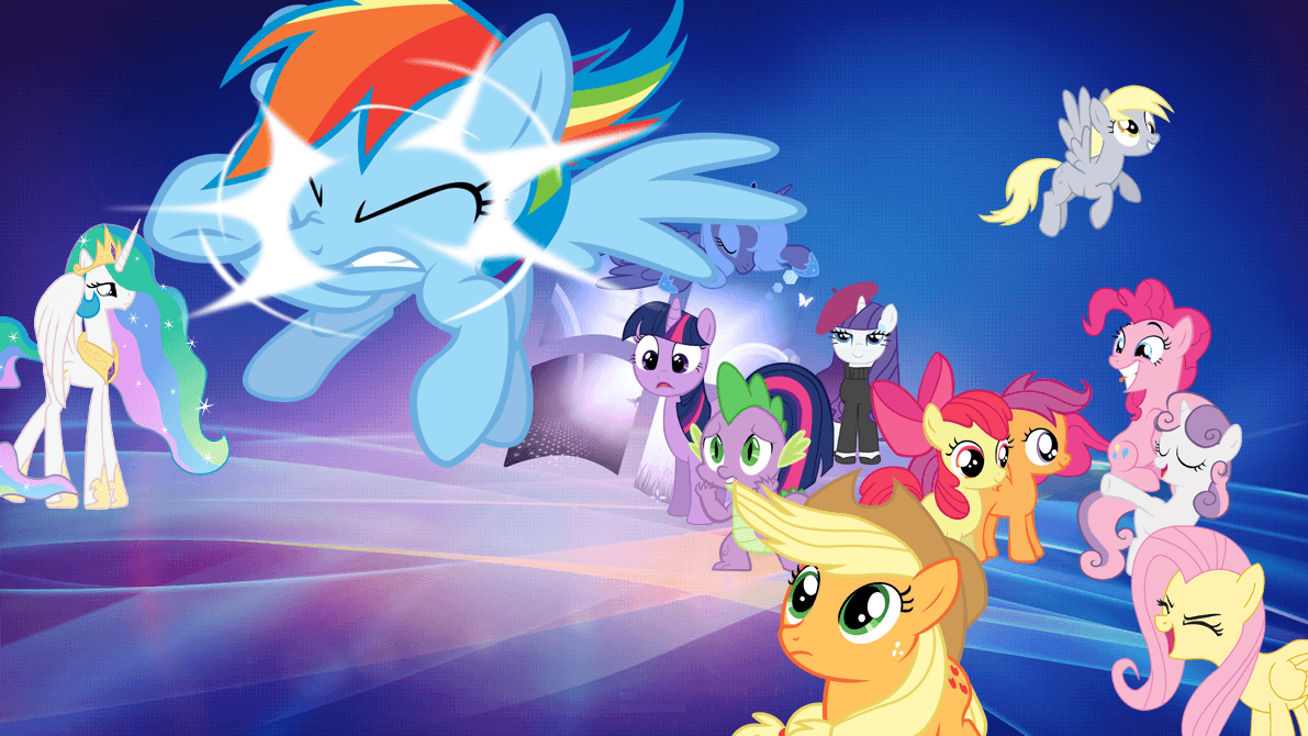 my little pony: friendship is magic wallpapers - wallpaper cave
