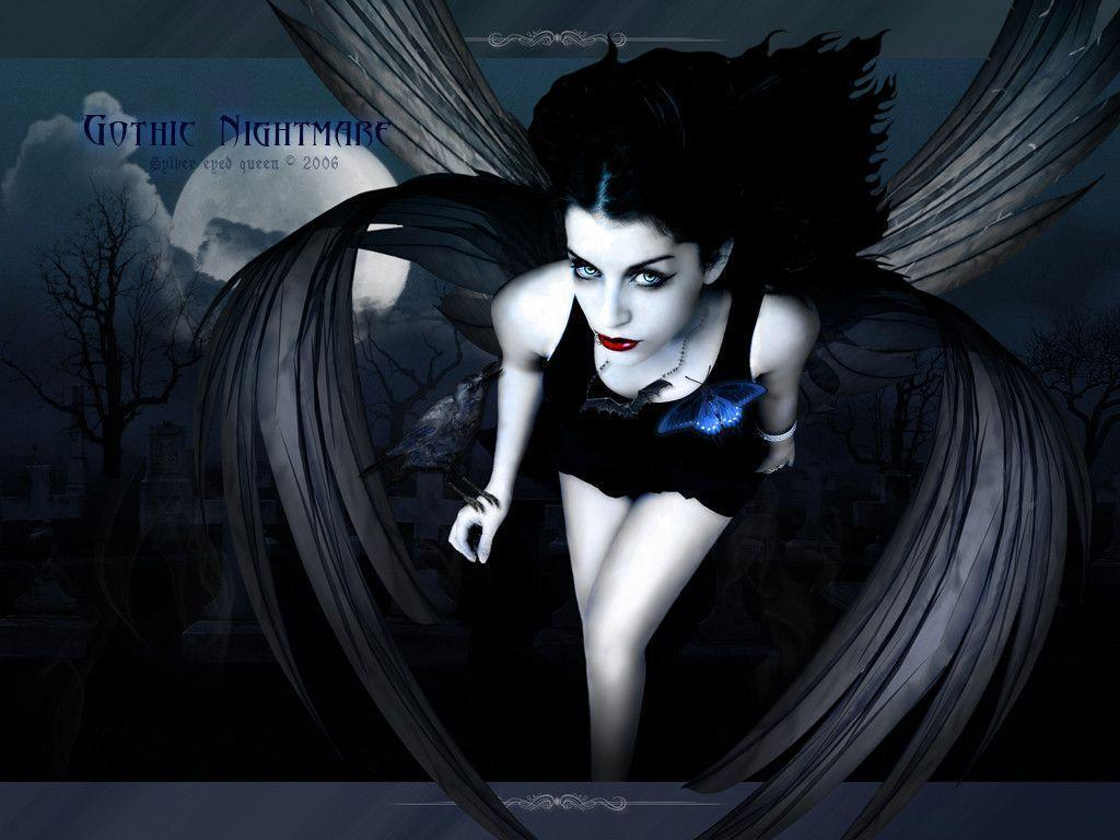 Gothic Fairies Wallpapers Wallpaper Cave