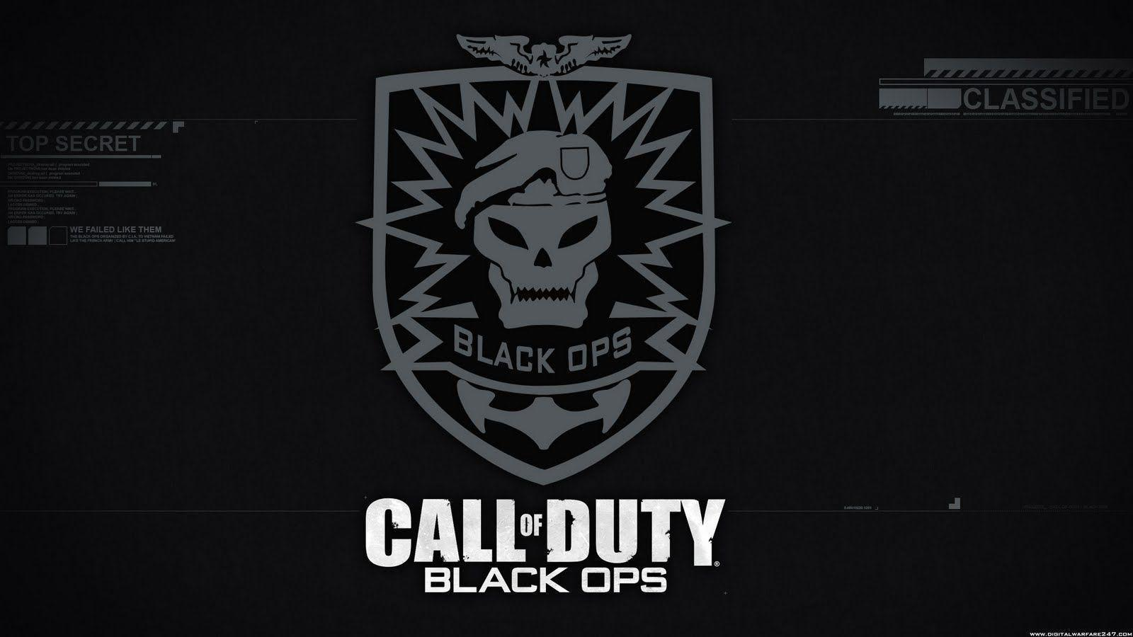 Black Ops Wallpapers Ps3