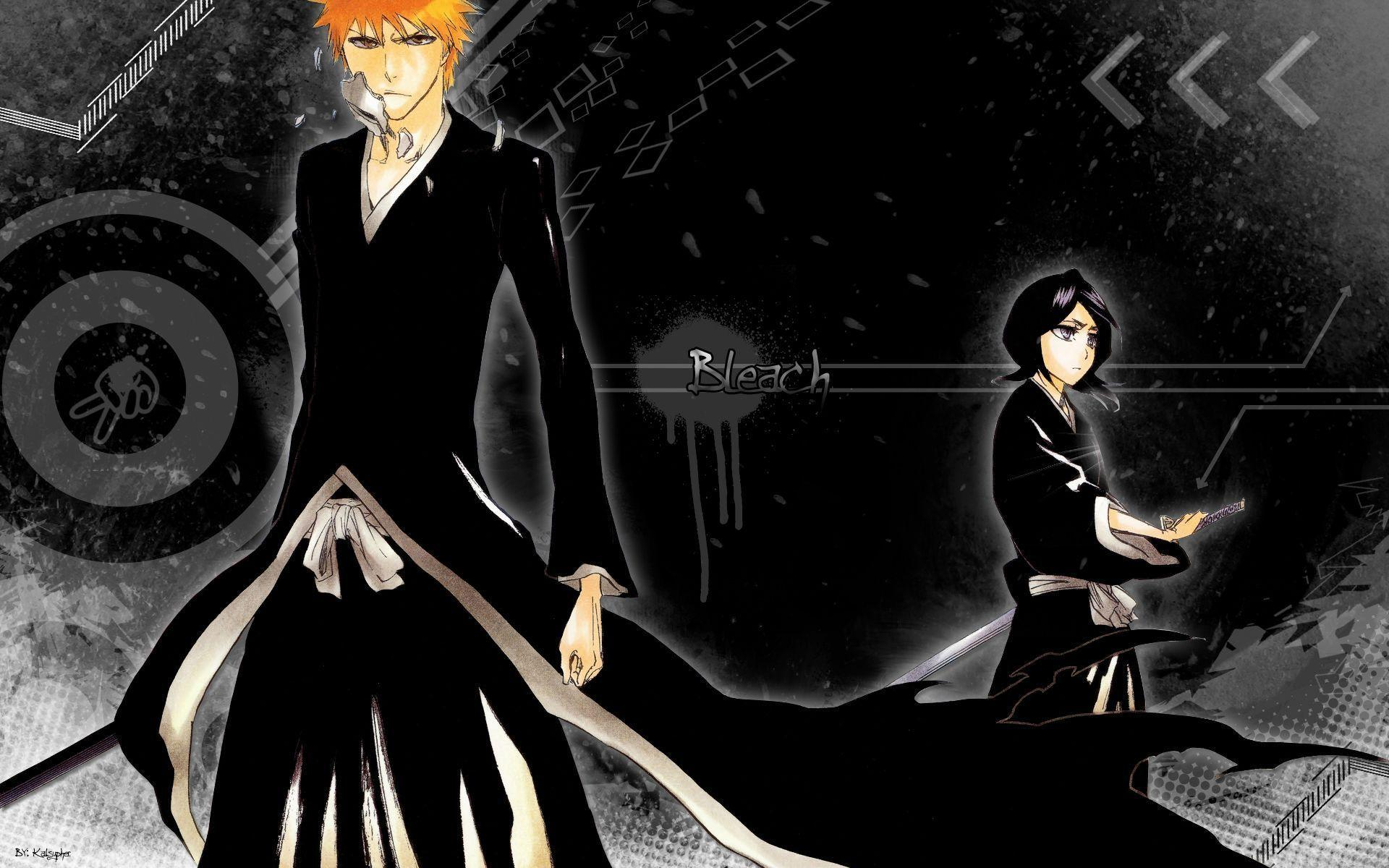 Download Ichigo Amp Rukia Anime Bleach Soul Reaper Wallpaper