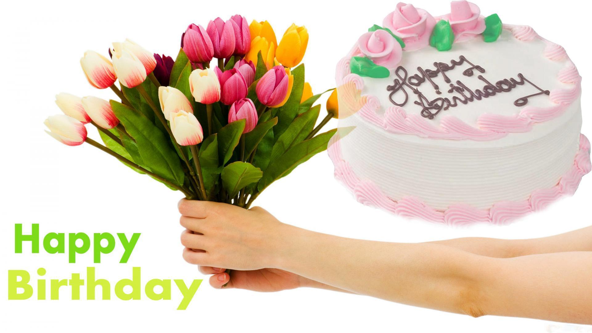 wallpapers happy birthday cake  wallpaper cave, Beautiful flower