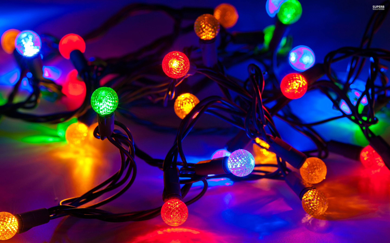 Christmas Light Christmas Lights Backgrounds Wallpaper Cave