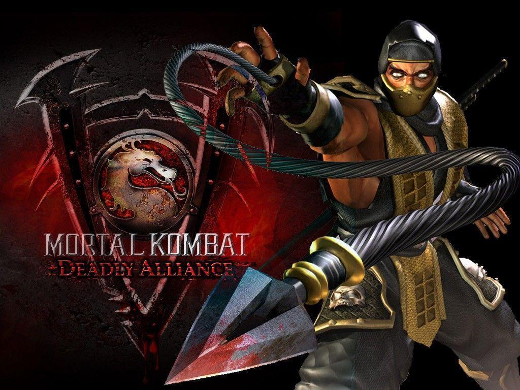 Aparador Antiguo Pintado ~ Mortal Kombat Scorpion Wallpapers Wallpaper Cave