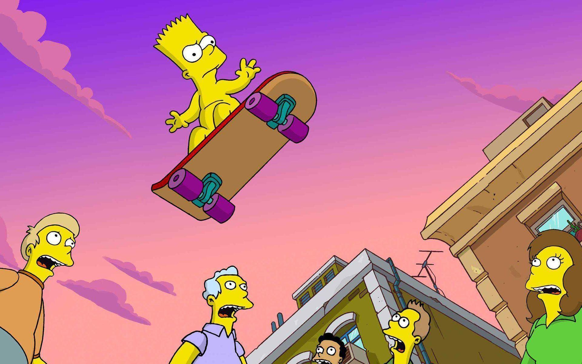 The Simpsons Movie Wallpapers - Wallpaper Cave