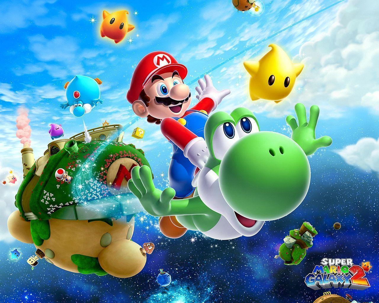 Super Mario Wallpapers and Backgrounds - w8themes