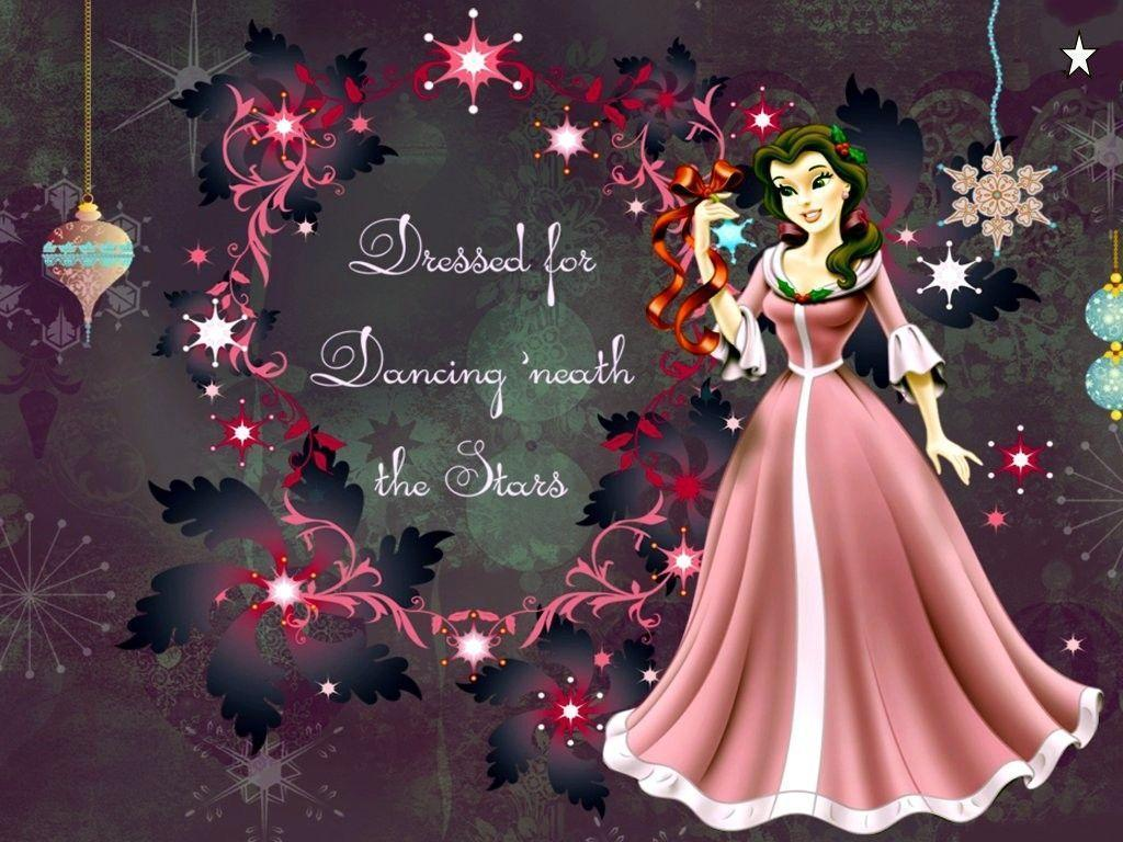 Disney Princess Christmas Wallpapers