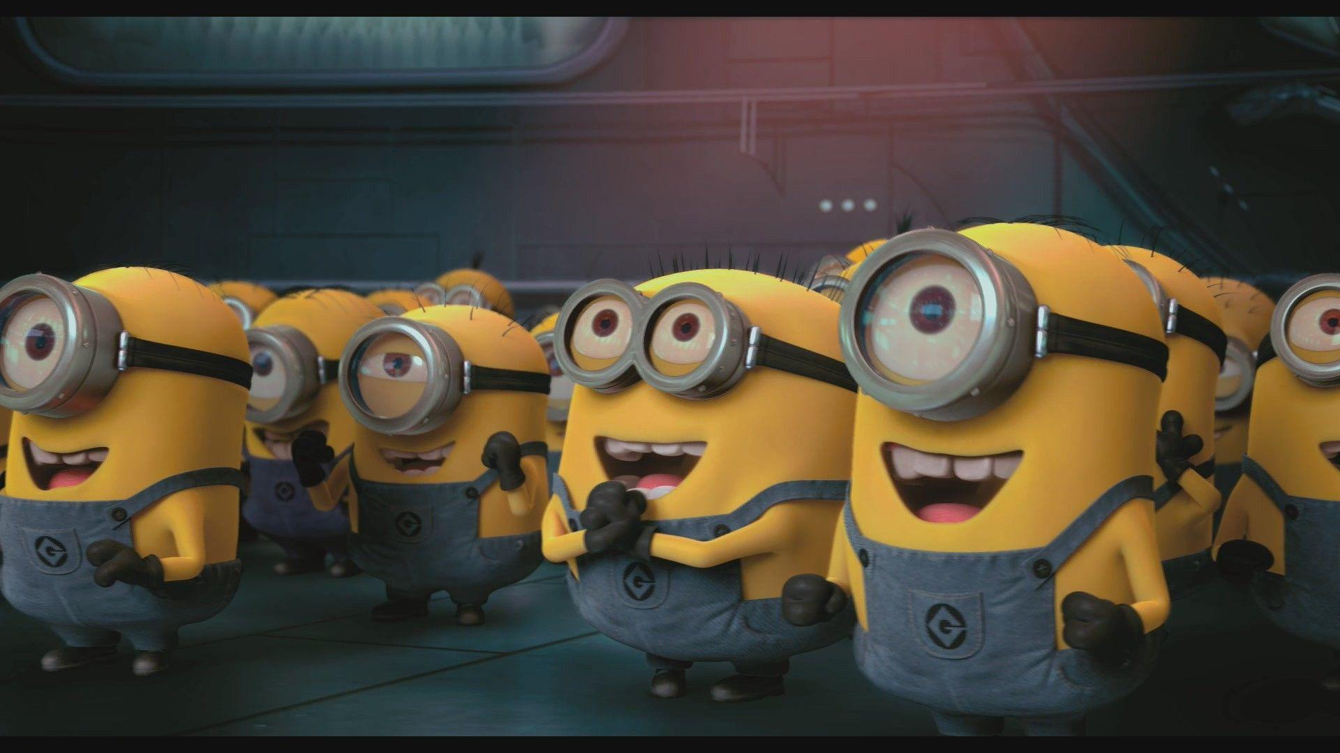 Minion Bedroom Wallpaper Despicable Me Minions Wallpapers Wallpaper Cave
