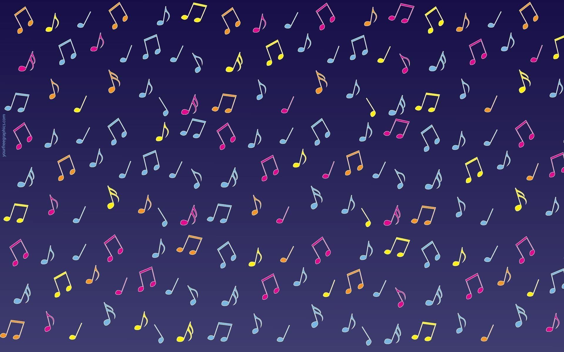 Wallpapers For > Music Note Backgrounds Purple