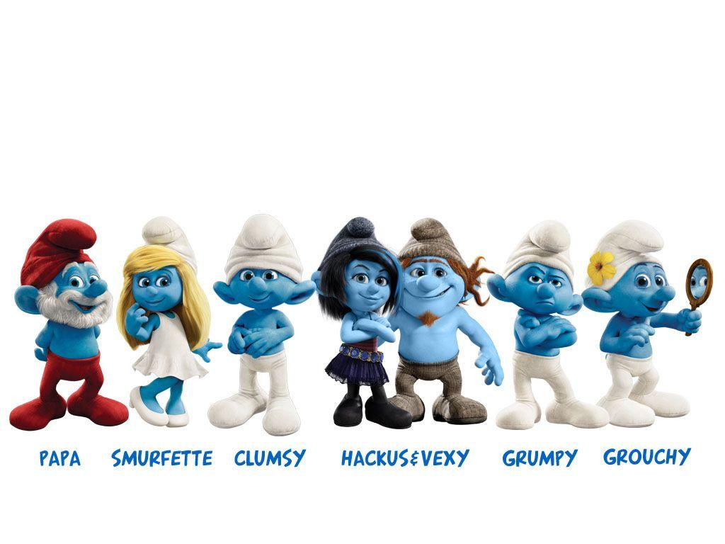 the smurfs wallpapers - wallpaper cave