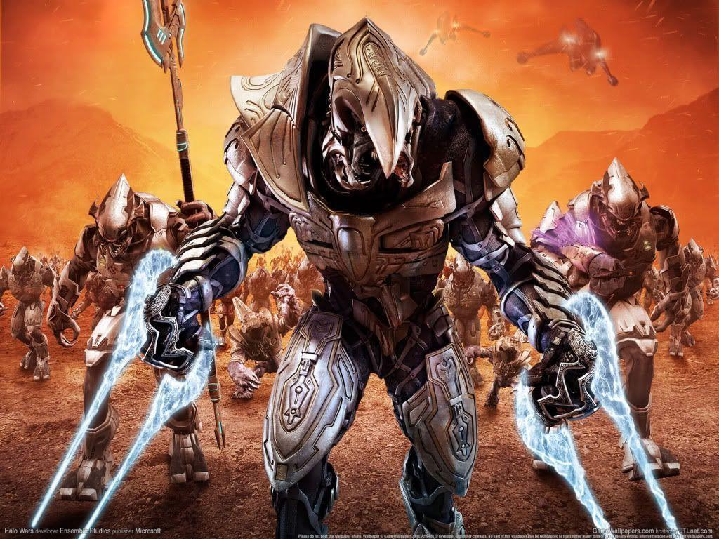 Halo Wars Arbiter Wallpaper Images & Pictures - Becuo Halo Master Chief Vs Arbiter