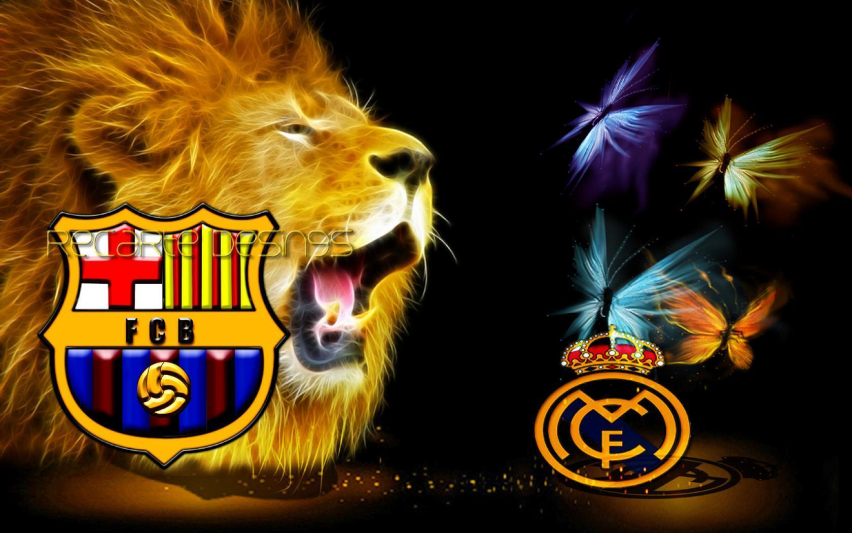 2012 The King Barcelona vs the queen Real Madrid 1680x1050 For 19