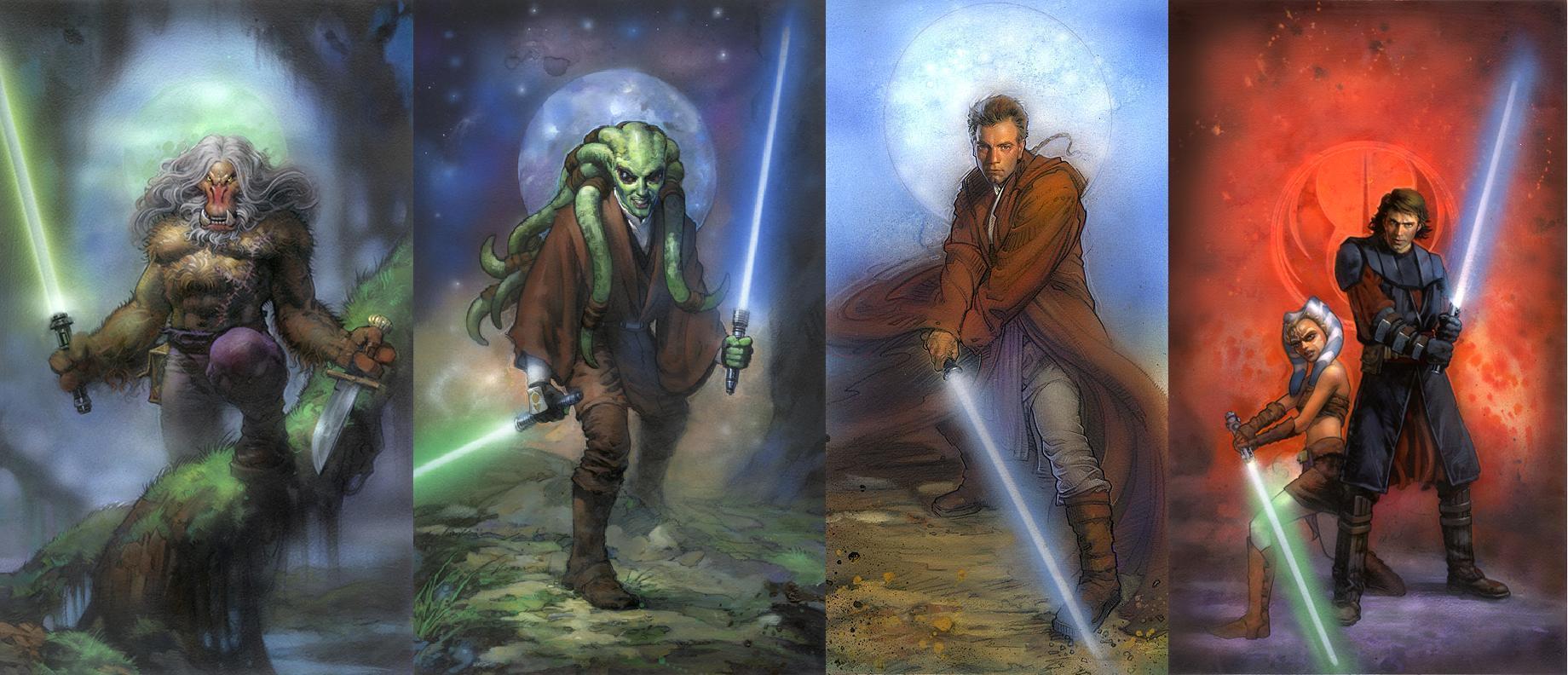 Star Wars Jedi Wallpapers Wallpaper Cave