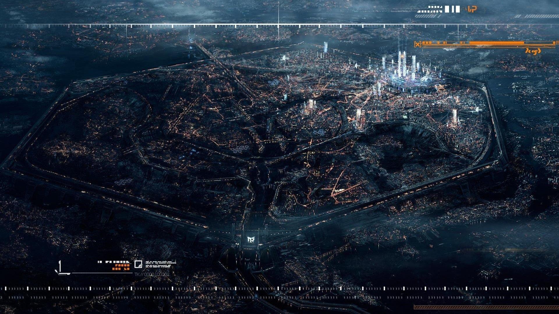 cityscapes futuristic wallpaper 1900x1041 - photo #34