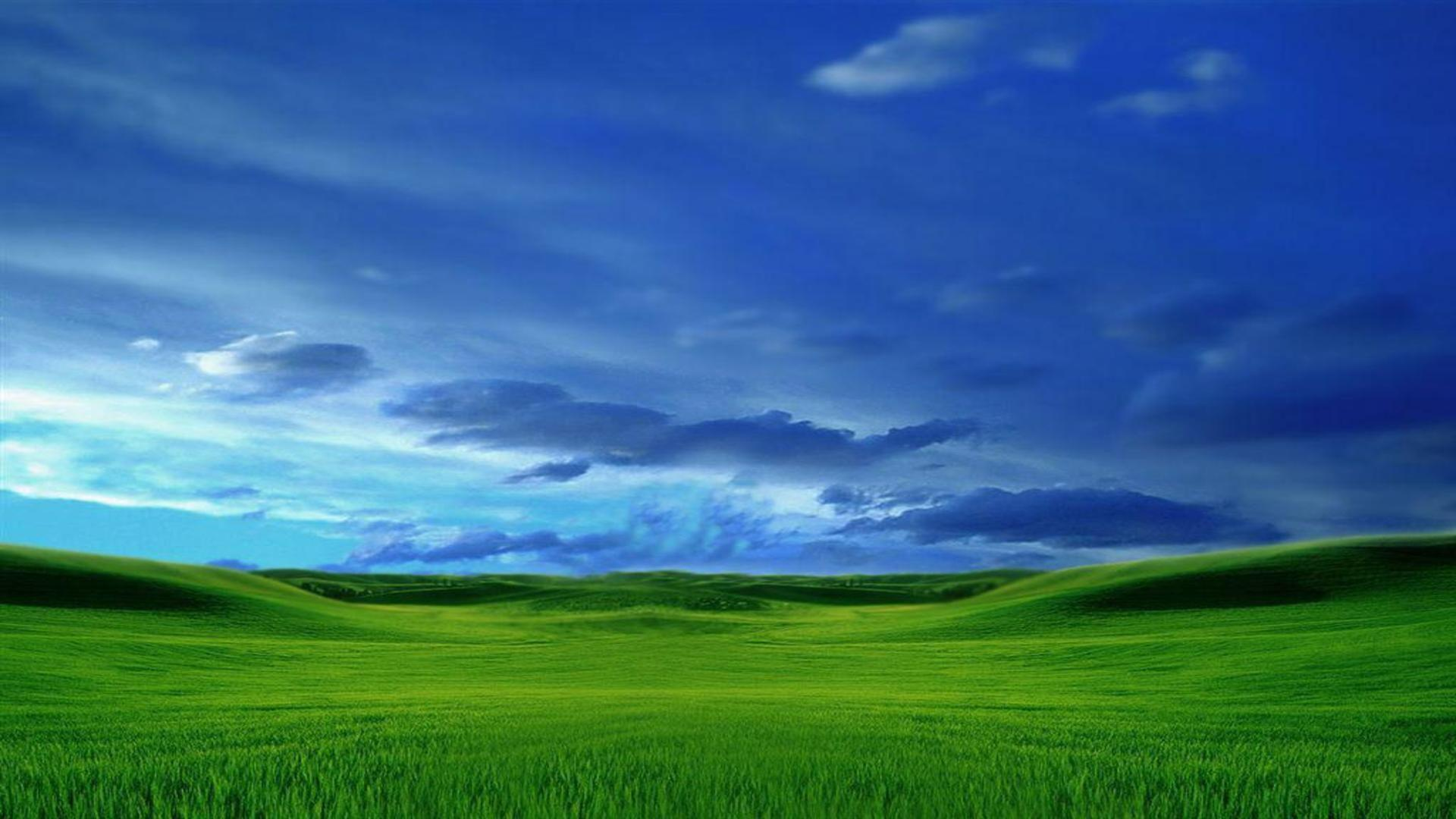 new microsoft eight bliss theme free desktop background free