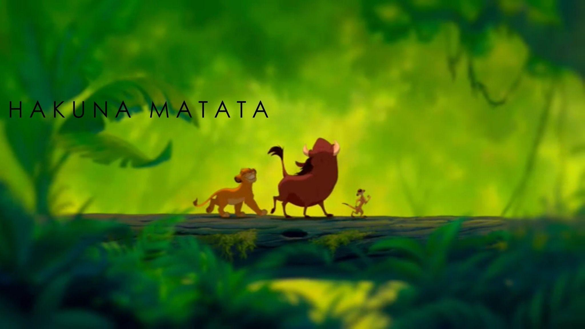 Hakuna Matata Feel Like Making Love