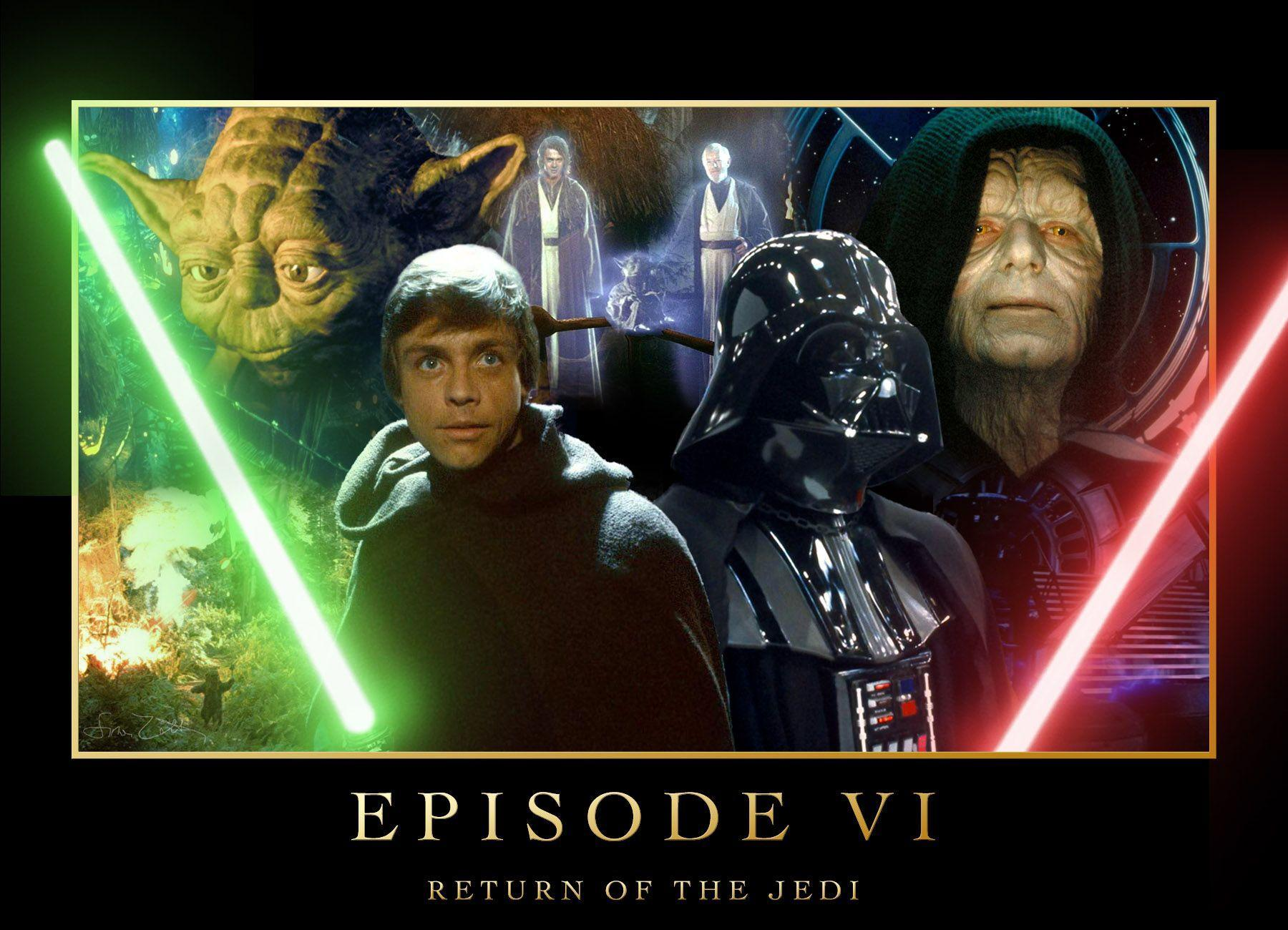 14 Star Wars Episode VI: Return Of The Jedi Wallpapers | Star Wars ...