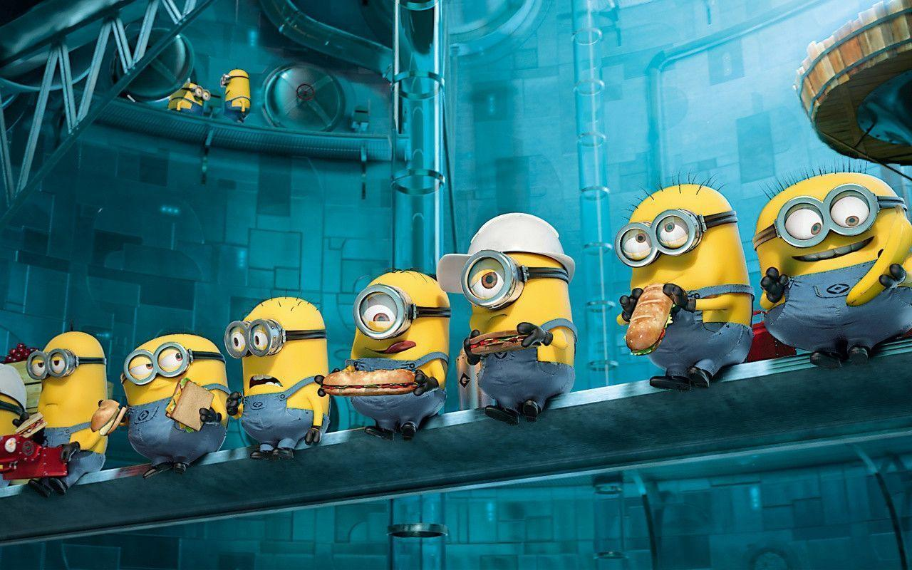 Paradise Minions Despicable Me 2 Wallpapers