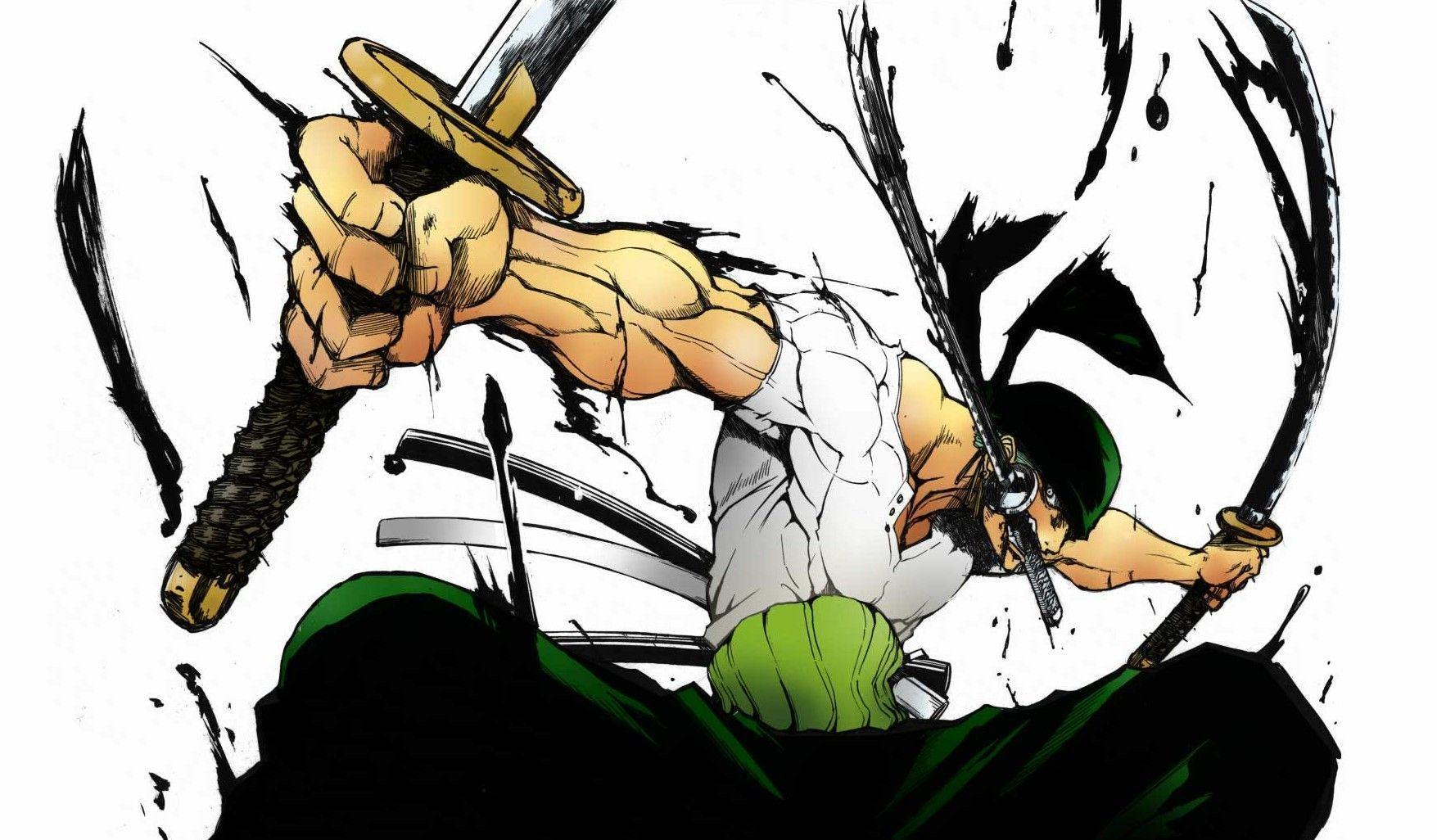 Roronoa Zoro On One Piece Anime Wallpaper  Frenzia