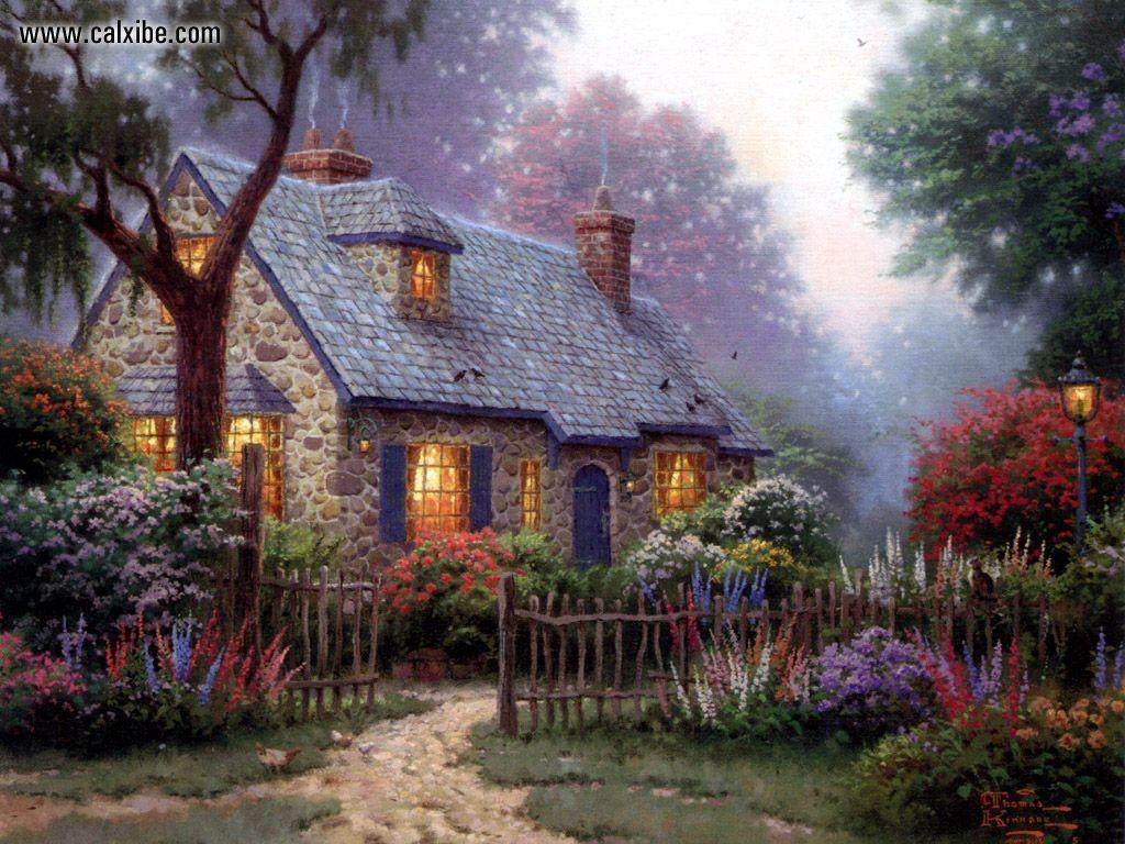 Related Pictures Thomas Kinkade Disney Wallpapers Free Wallpapers