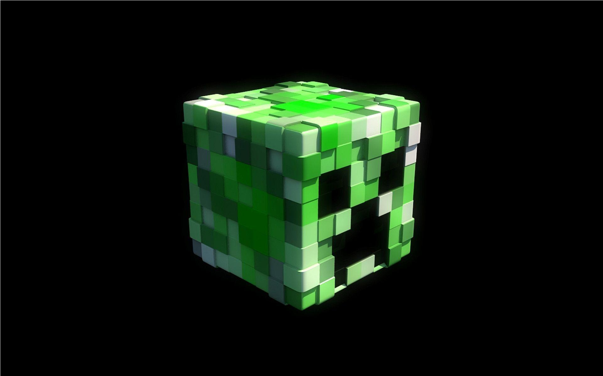 Minecraft Creeper Face Wallpaper 3D Games Wallpapers HD .