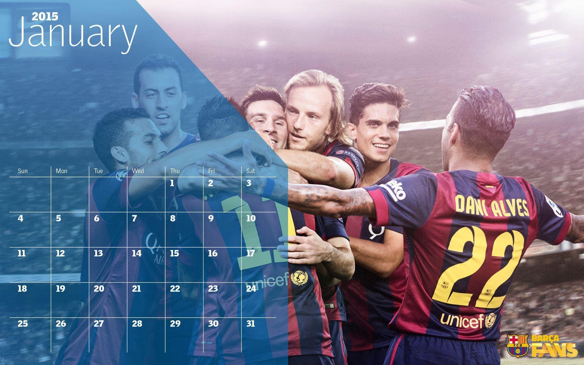 Barcelona Calendar Wallpaper : Fcb mobile wallpapers wallpaper cave