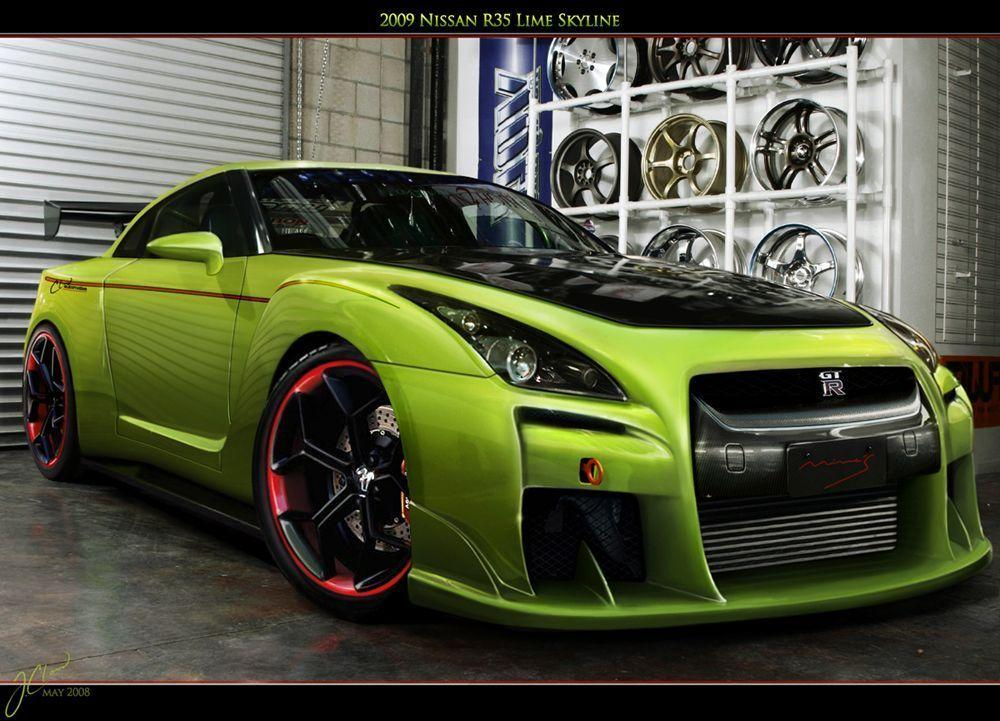Nissan Gtr R35 Wallpapers Wallpaper Cave