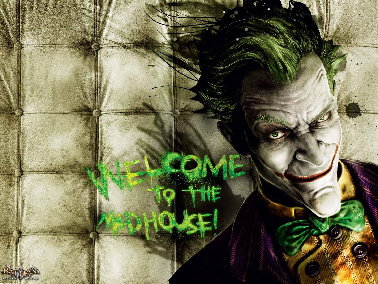 image batman arkham asylum joker wallpaper batman wiki