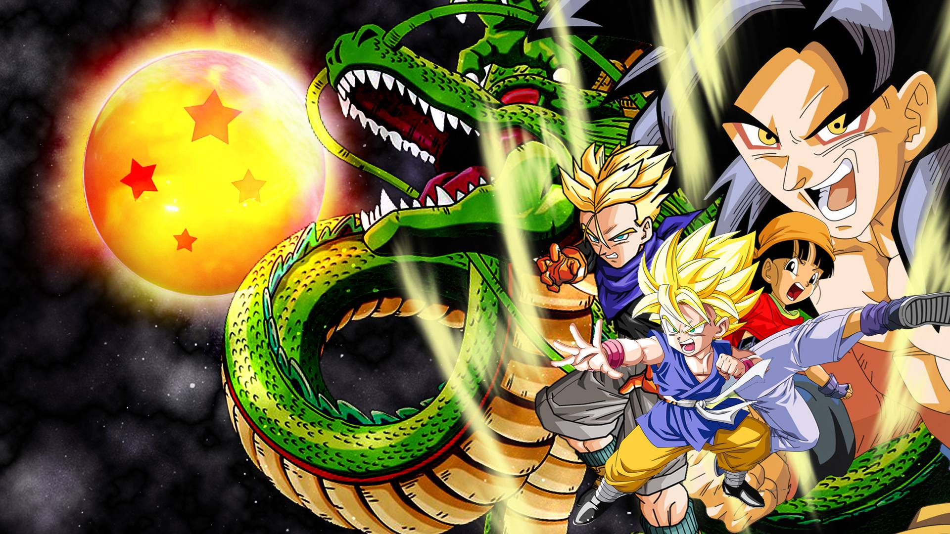 Dragon Ball Gt Hd Wallpapers Wallpapers Res 1024x768PX ~ Dragon
