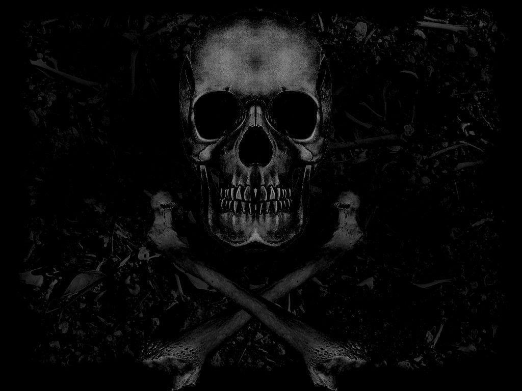 Desktop Wallpaper Skull And Bones