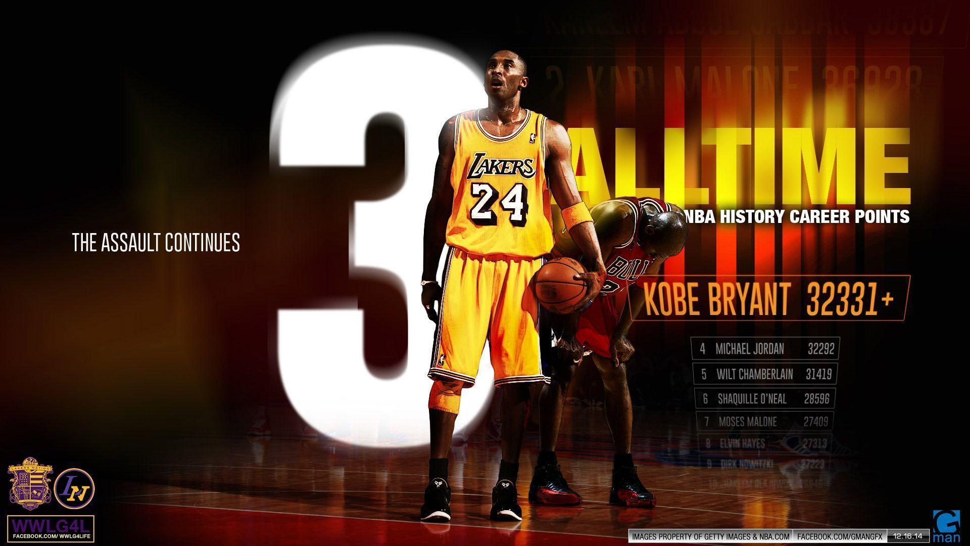 Nba Kobe Bryant Wallpaper: Kobe Bryant Wallpapers HD 2015