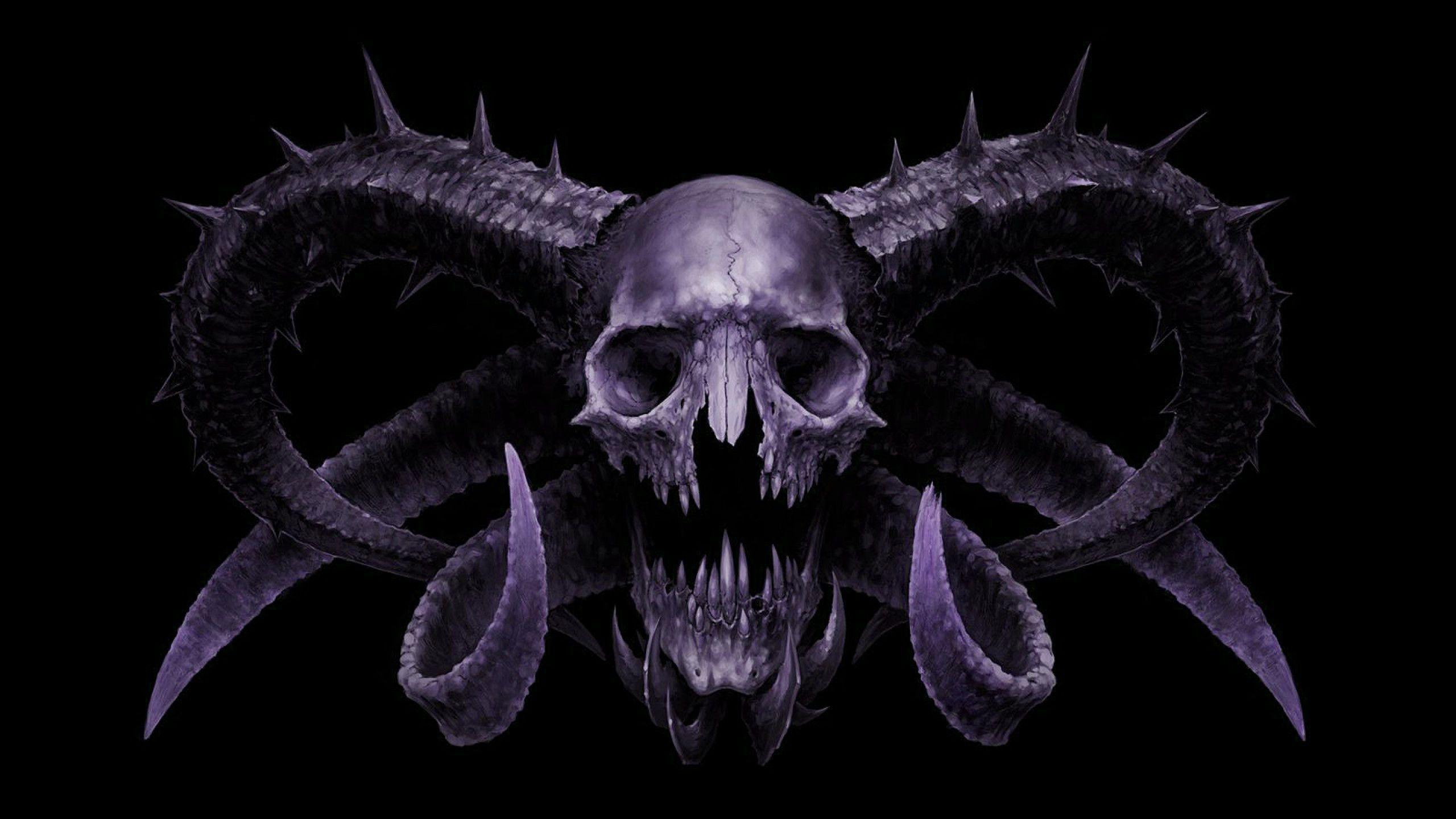 evil skull wallpapers screensaver - photo #18