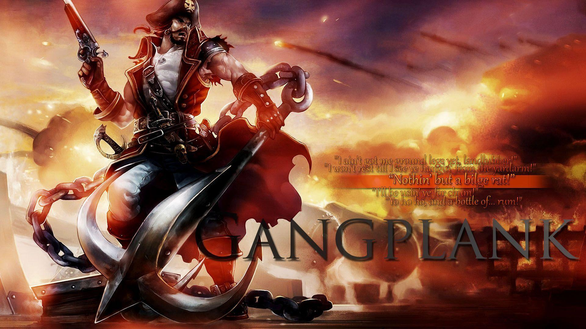 Gangplank wallpapers wallpaper cave - Fan wallpaper download ...