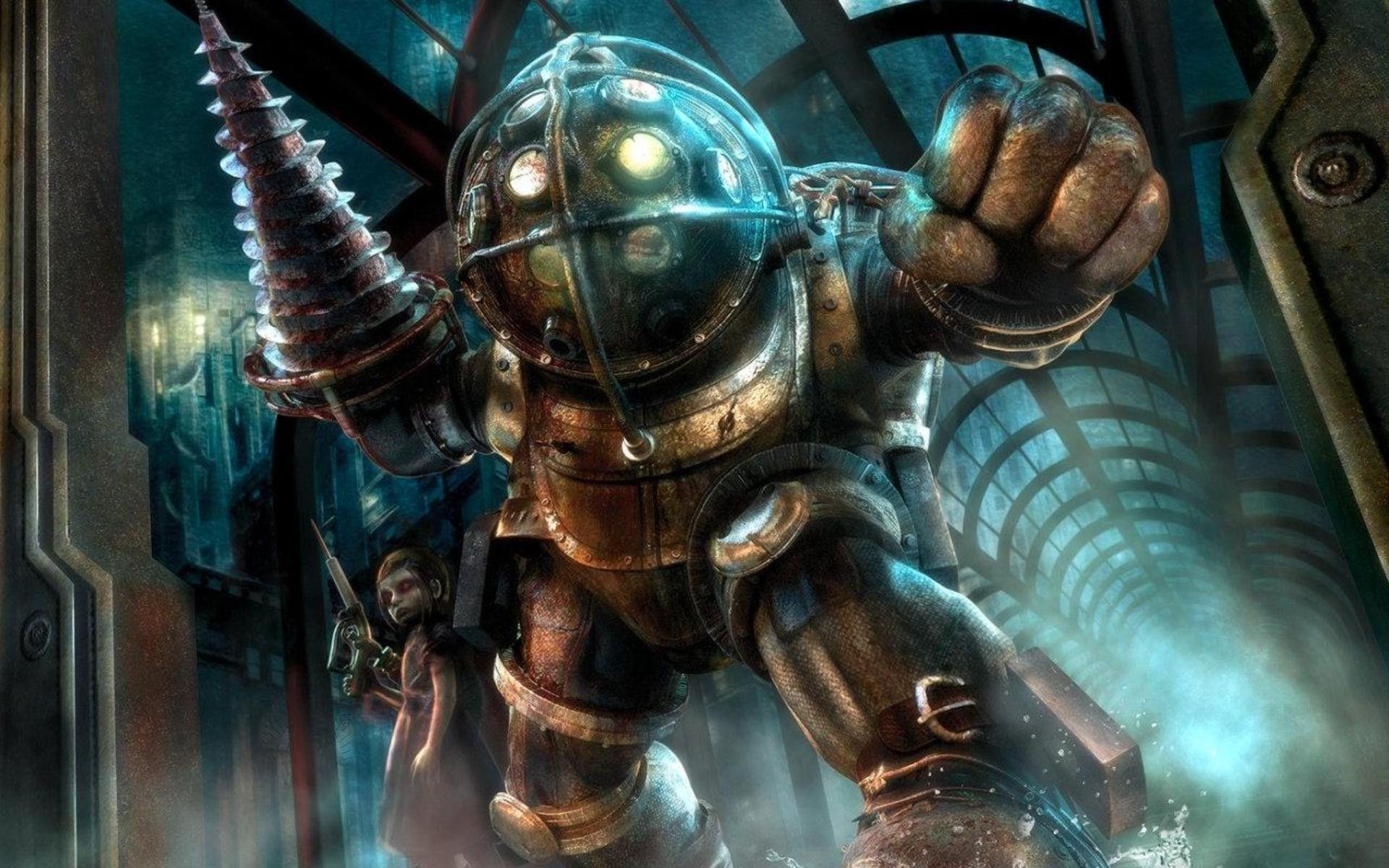 BioShock Big Daddy Wallpapers