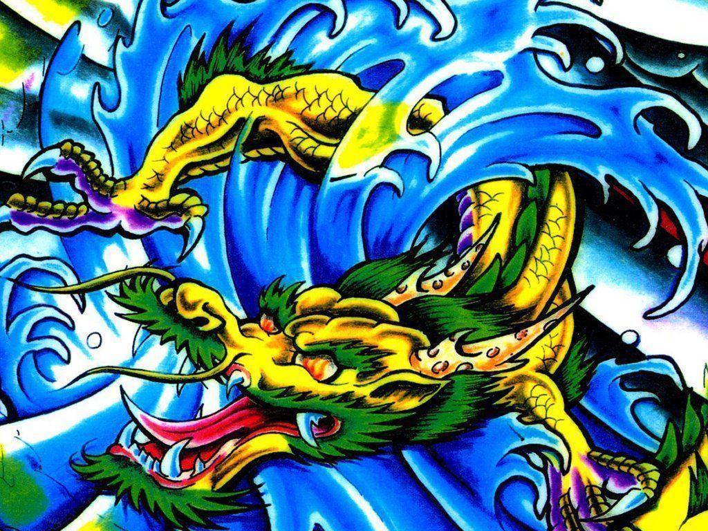 wallpaper tattoo colourful - photo #31