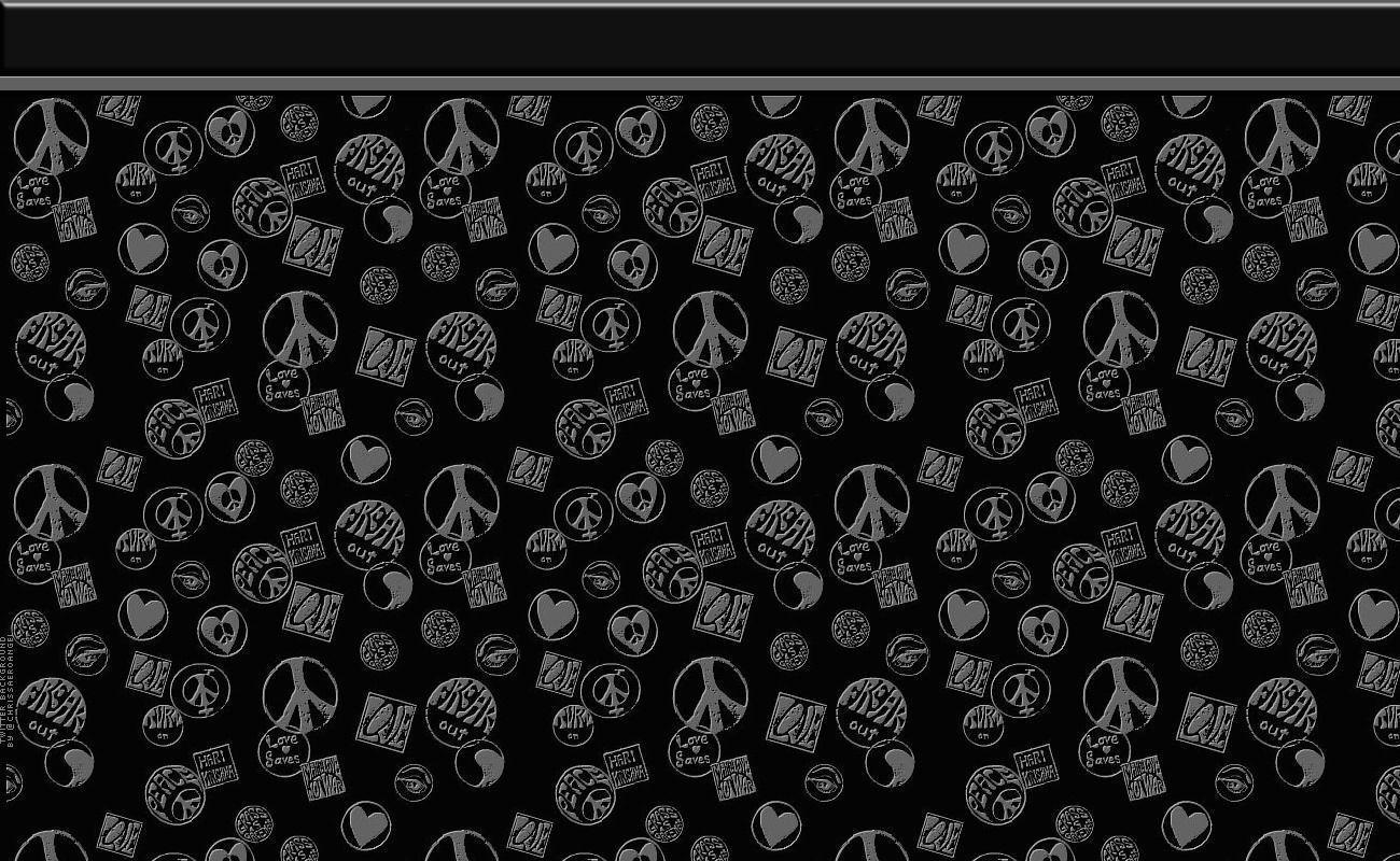 Image For > Peace And Love Backgrounds