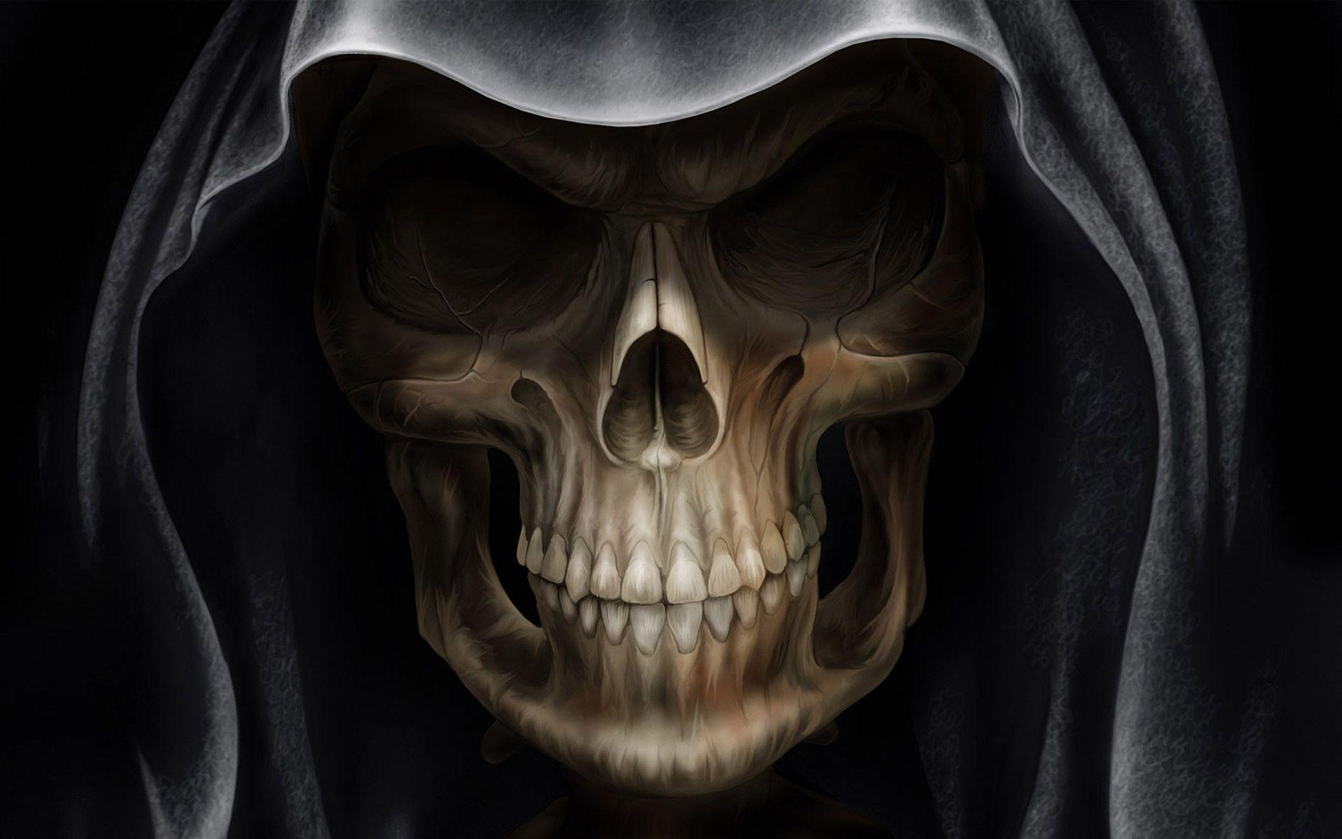 skull wallpaper wallpapers hd - photo #13