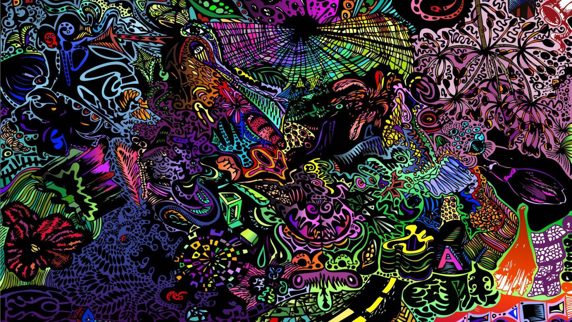 Trippy Art Wallpapers Wallpaper Cave