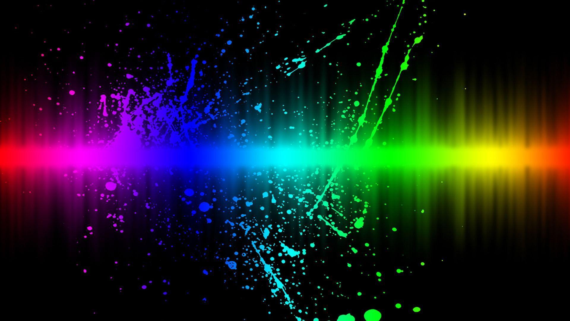 christmas neon lights hd - photo #6