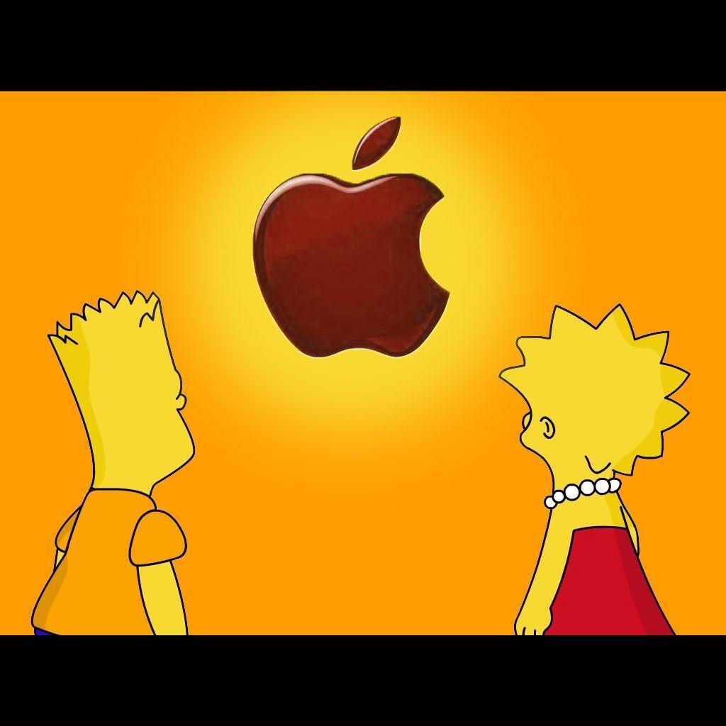 1920x1200 homer simpson apple wallpaper. Â«Â«