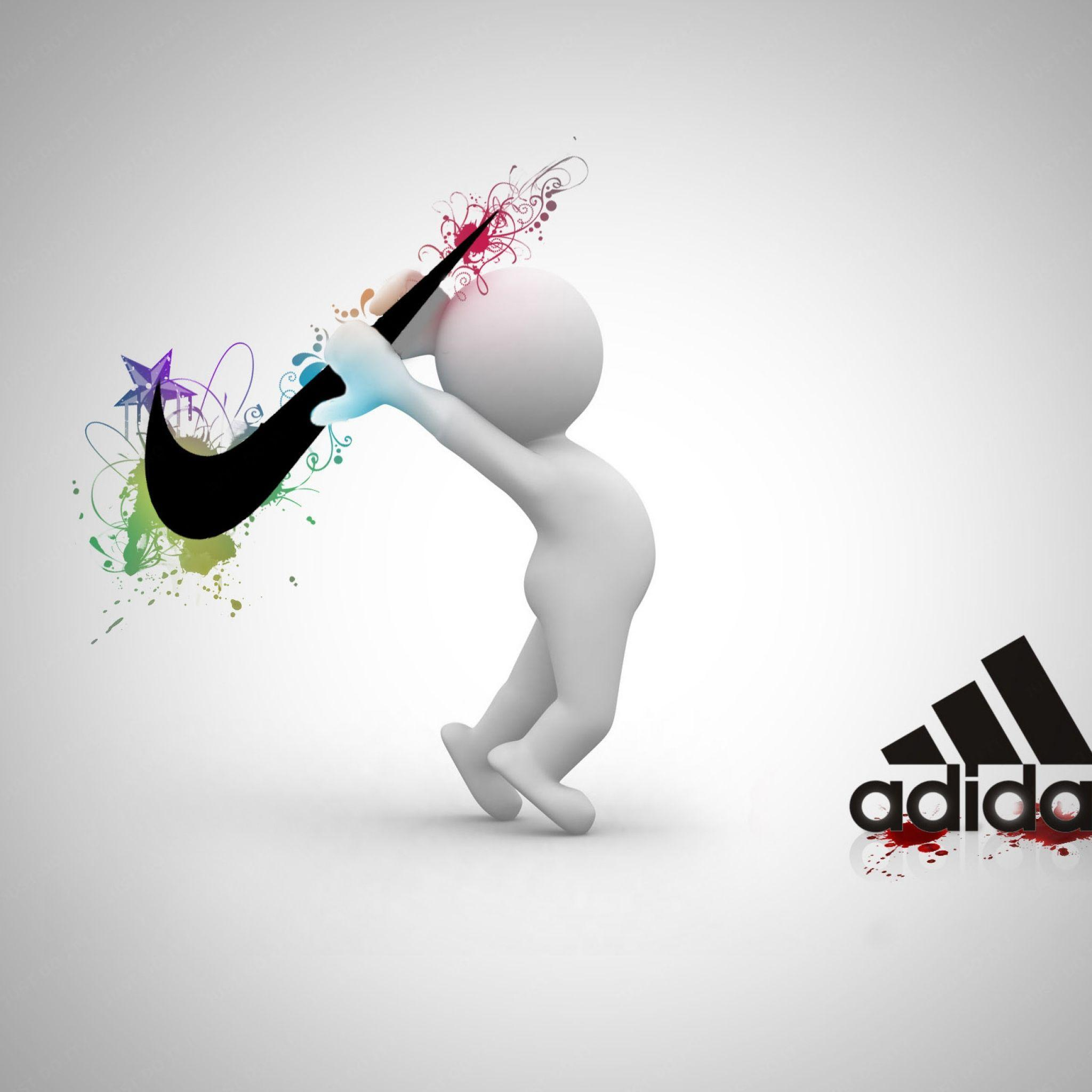 Nike Air Logo Wallpaper