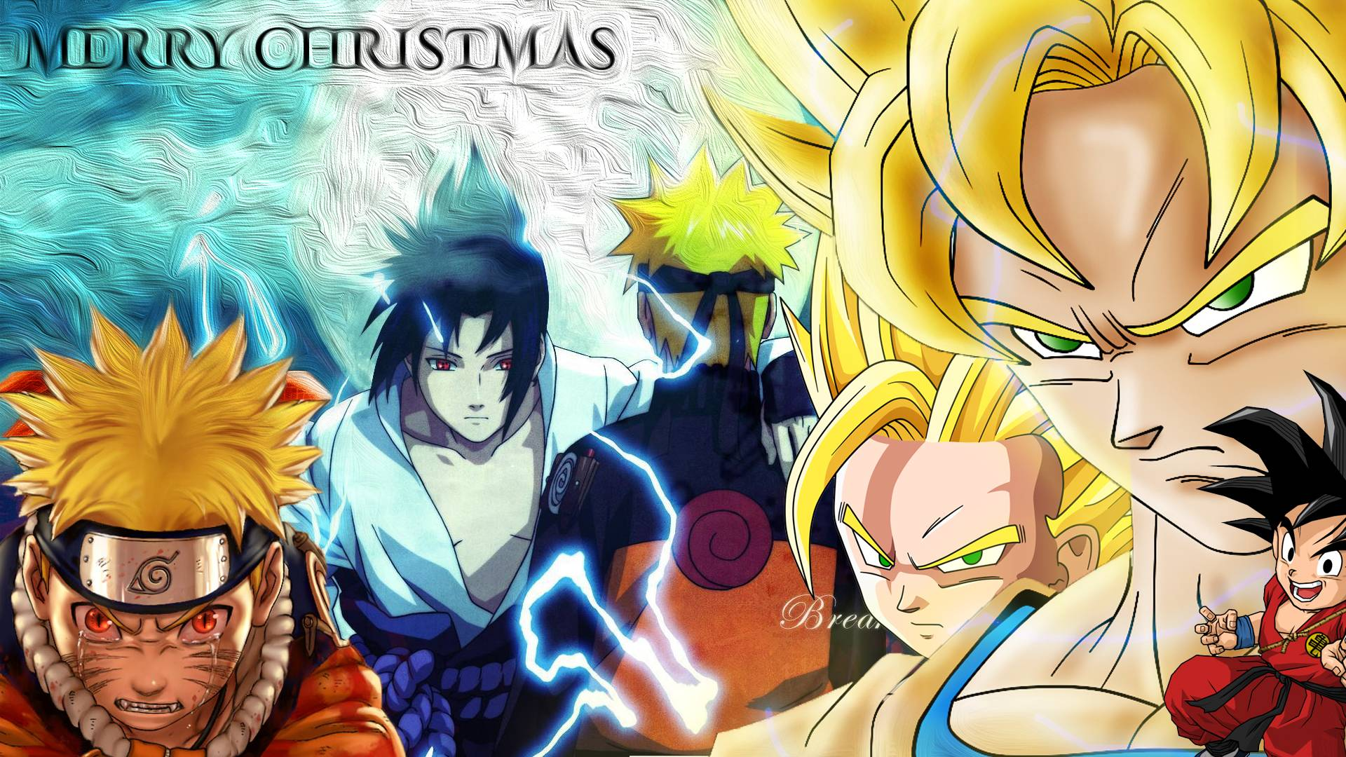 Naruto christmas wallpapers wallpaper cave - Naruto and dragonball z ...