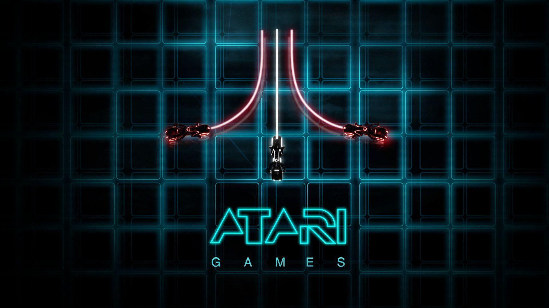EA Atari and tron Wallpaper 1920x1080 | Hot HD Wallpaper
